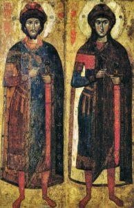 Мученики-страстотерпцы Борис и Глеб