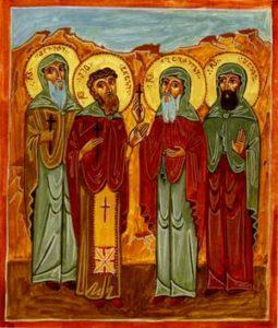 Святые Преподобномученики Гареджийские